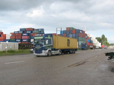 Containertransport 5